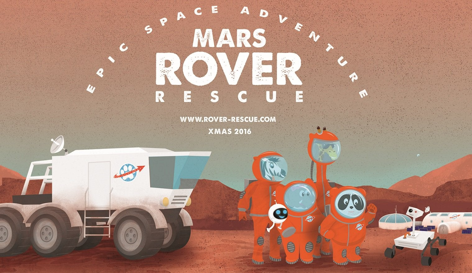 This Science Fiction Picture Book Will Make Your Kids Want To Colonise Mars