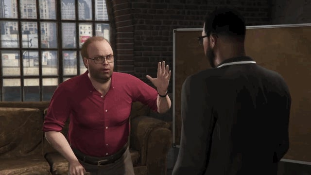 GTA V Character Jokes About How Long It Took for Heists to Come Out