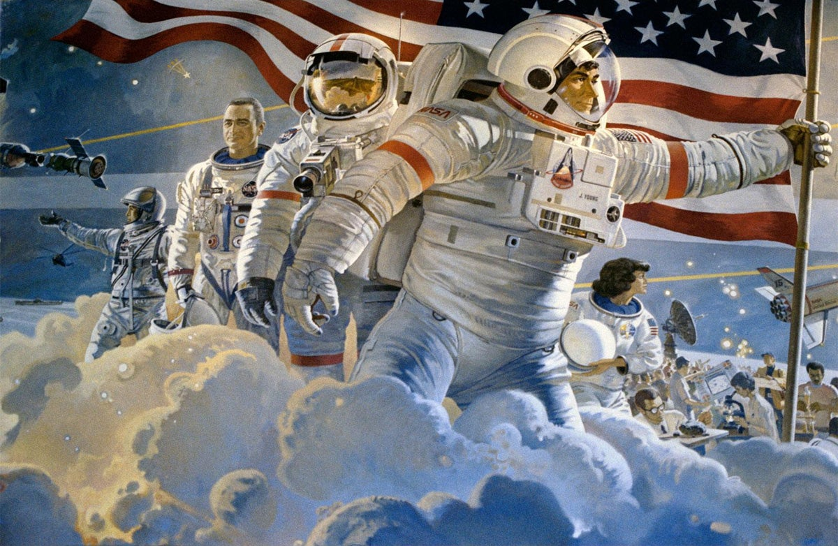 27 Paintings From The Most Famous Space Artist On Earth ...