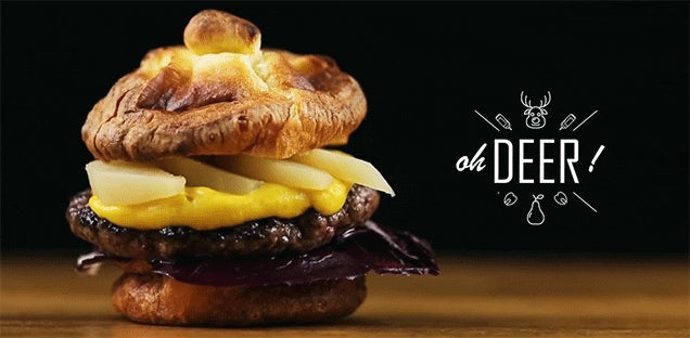 These 7 wildly creative burgers look so damn tasty