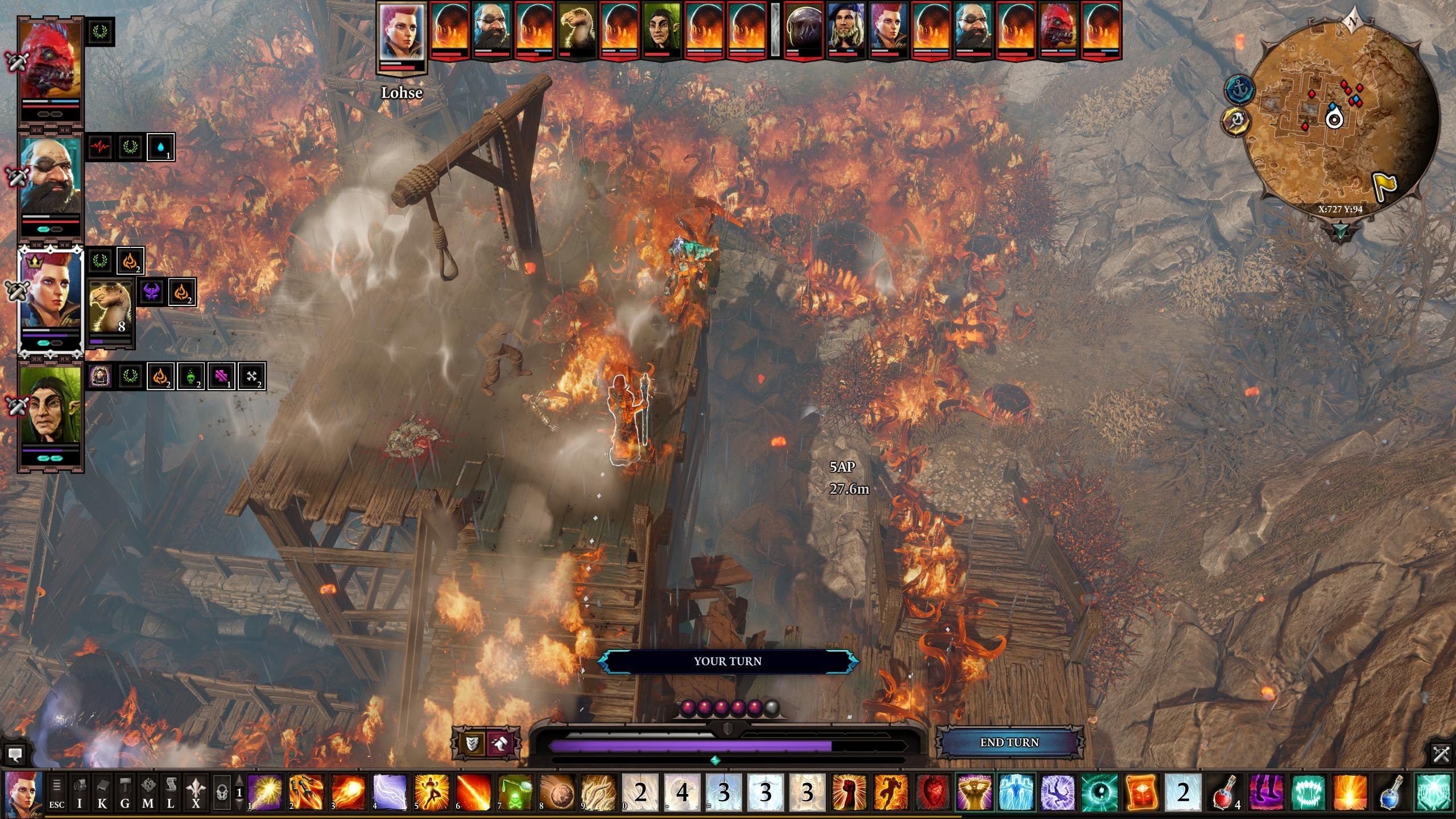 Divinity: Original Sin 2 Battles Sure Do Escalate Quickly