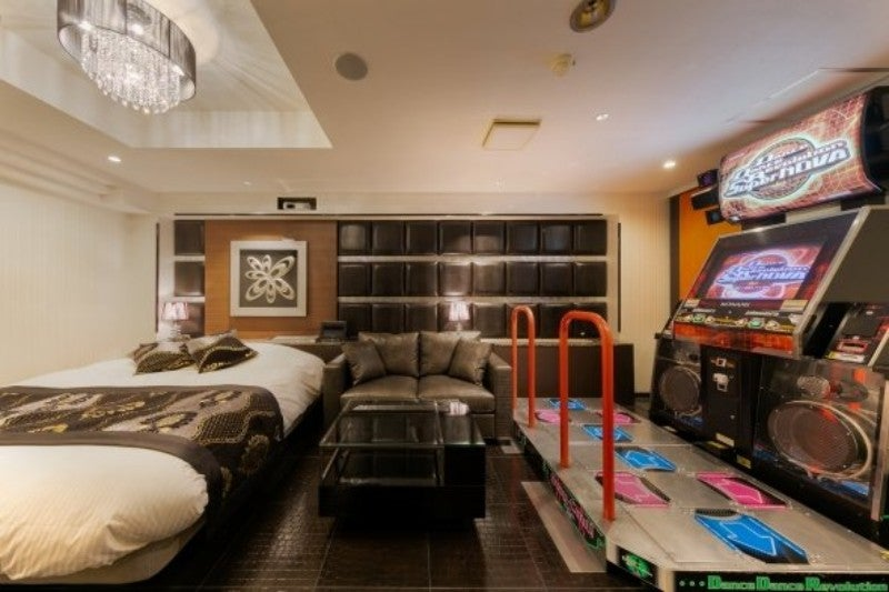Play Naked Dance Dance Revolution At This Love Hotel In Japan