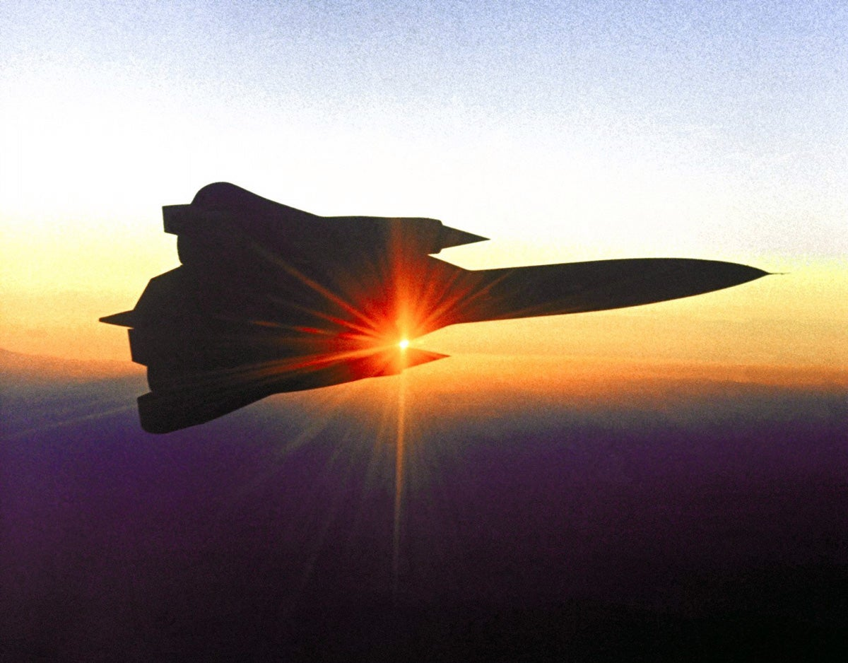 Rare photos of the SR-71 Blackbird show its amazing history