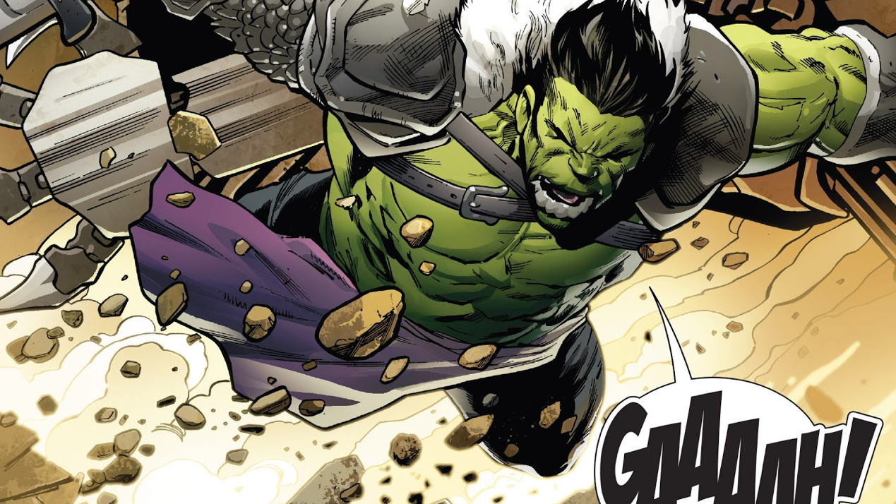 The Incredible Hulk Comic Just Aped Thor: Ragnarok In The Best Possible Way