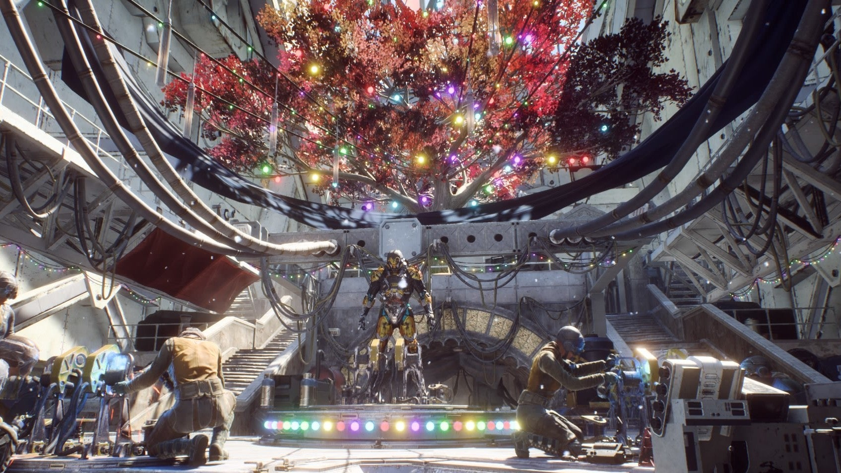 Anthem Still Hasn't Taken Down Its Christmas Decorations Either