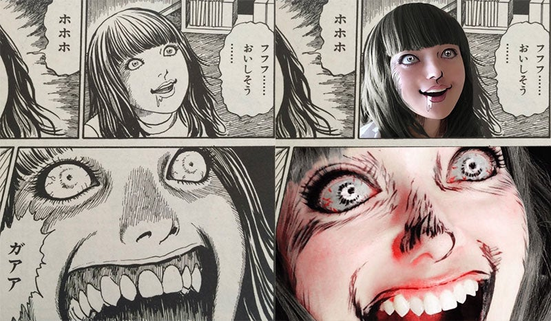 Manga Horror Still Makes For Excellent Cosplay