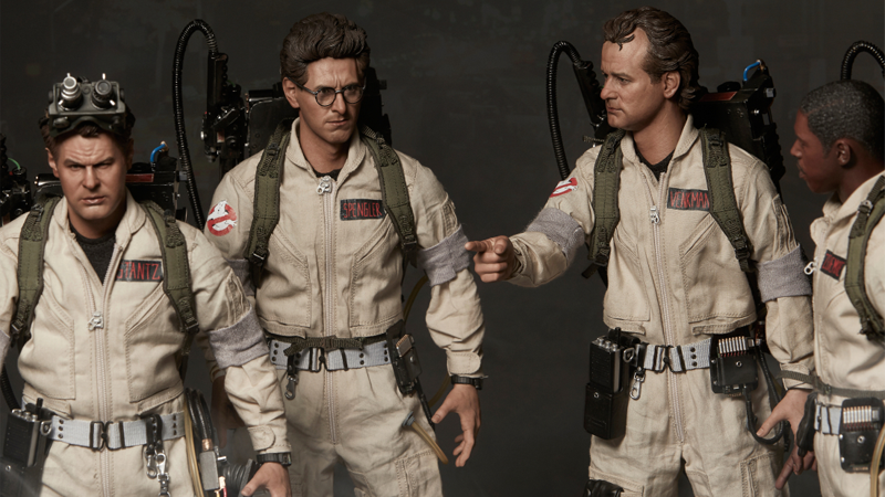 These Incredible GhostbustersAction Figures Manage To Heap Another Indignity On Poor Zeddemore