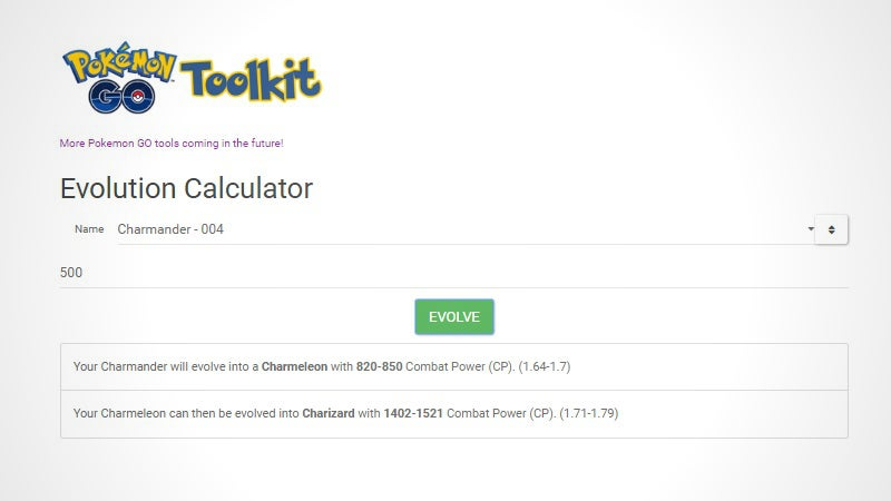 See If A Pokemon Is Worth Evolving InPokemon GOWith This CP Calculator