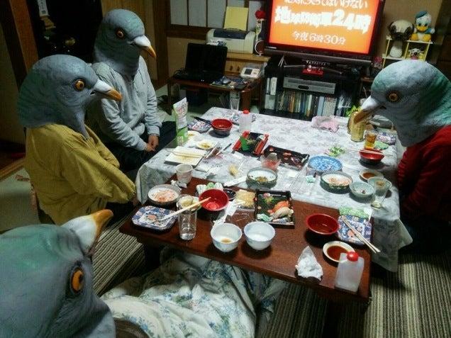 Japan Is Good at Pigeon Masks