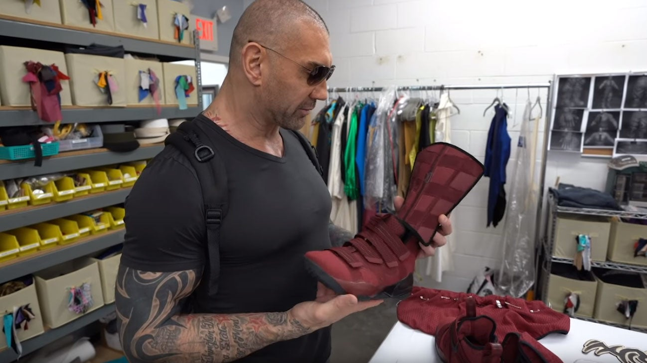 Cosplayers Made Dave Bautista's Last Ever Wrestling Outfit