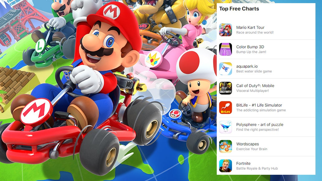 Mario Kart Is Apple's Most Downloaded Game Of 2019