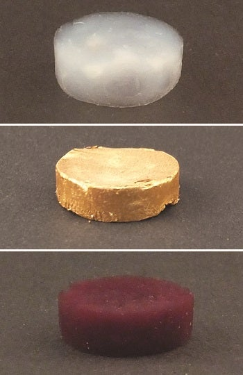 Gold Aerogel is Light Enough To Float on Cappuccino Foam