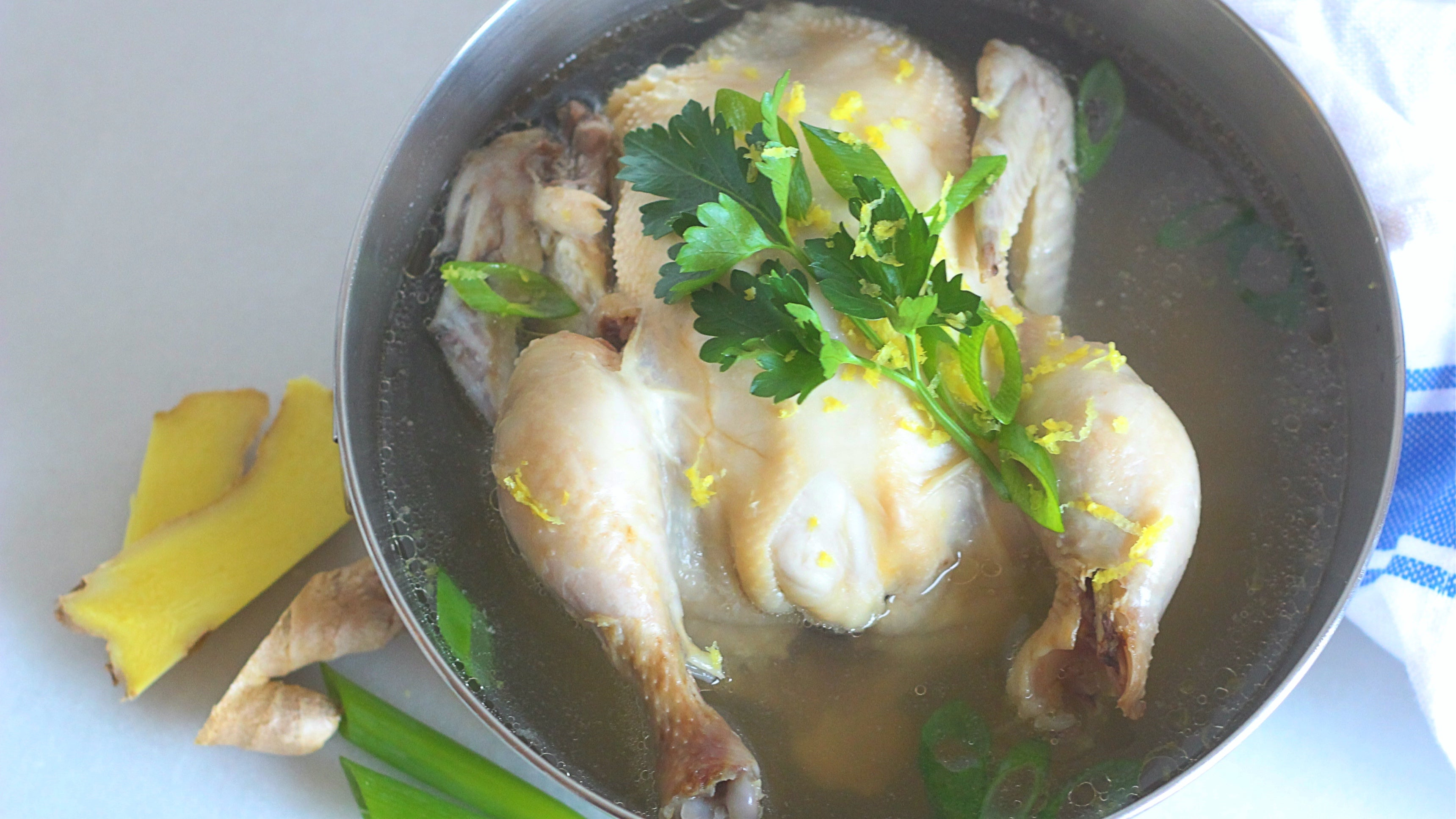 How to Make a Small Batch of Chicken Soup In Your Pressure Cooker