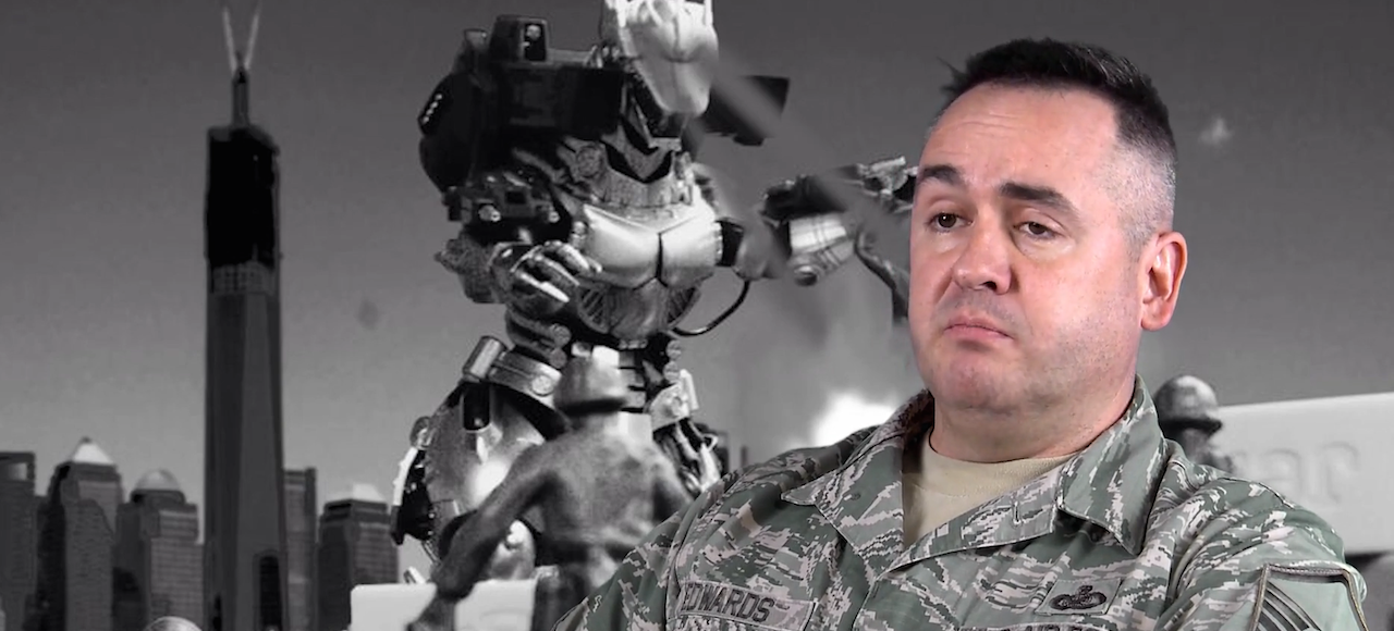 The Air Force Thinks It Could Take on Godzilla