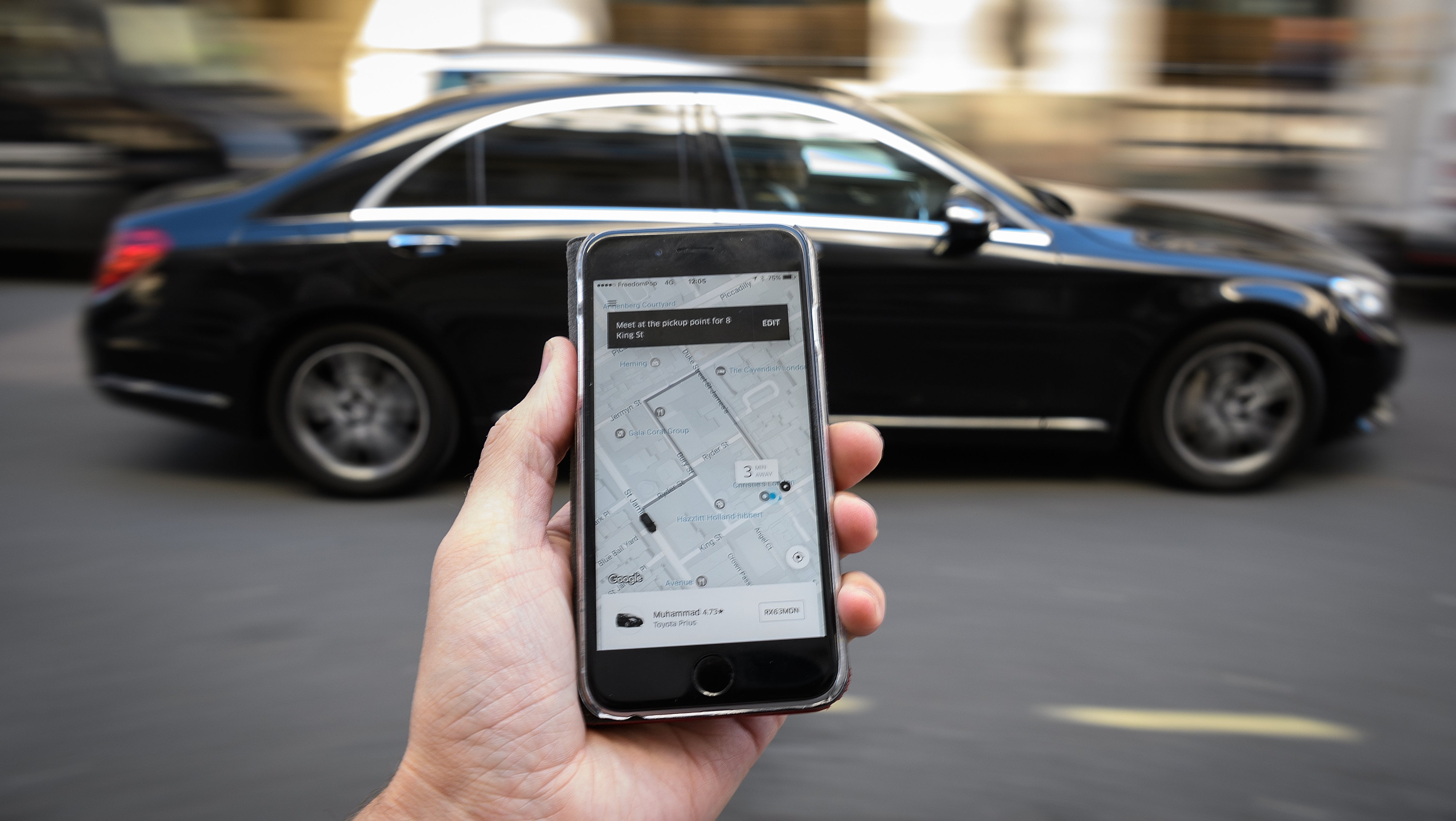 Uber Is Trying To Patent An AI System To Identify Erratic Behaviour In Riders