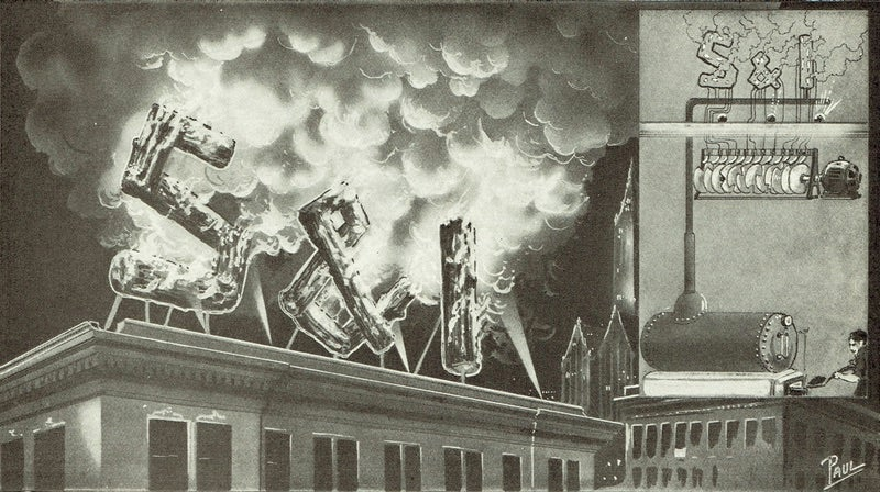 Fire Was the Future of Advertising in 1923