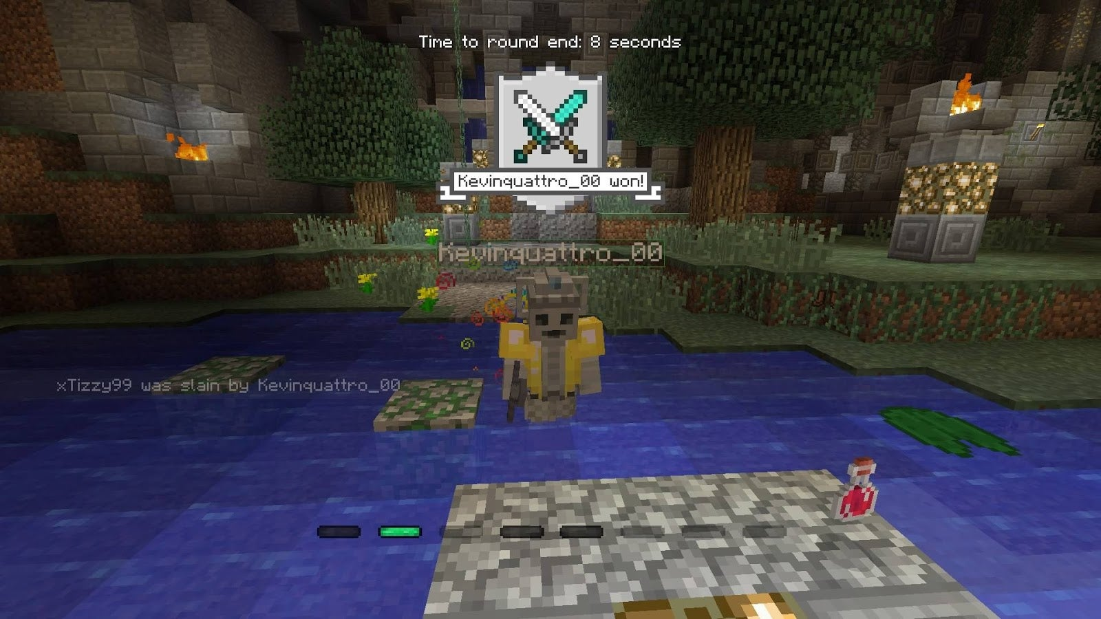Minecraft's Battle Mini Game Is Worth A Shot