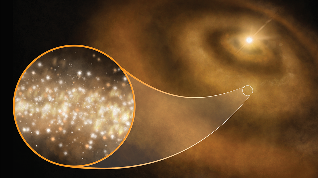 Detection Of Diamond Dust Around Distant Stars Solves Decades-Long Mystery