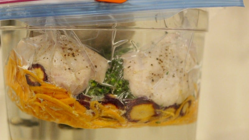 Will It Sous Vide? Three Whole Meals in a Bag