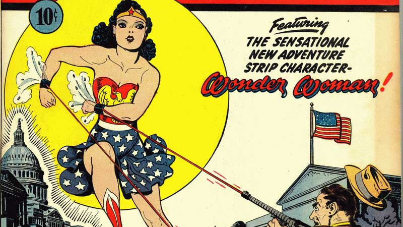 "the origin and history of the comic book Jill lepore's new book, ""the secret history of wonder woman,"" is a long, strange thing to chew on on the one hand, the story it relates has more uplift than wonder woman's invisible."