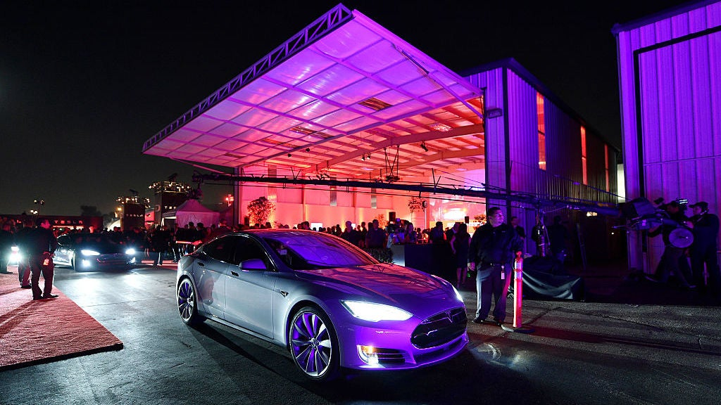 Elon Musk Says Rockin' Drive-In Restaurant, Roller Skating, And Theatre Coming To Tesla Supercharger Station