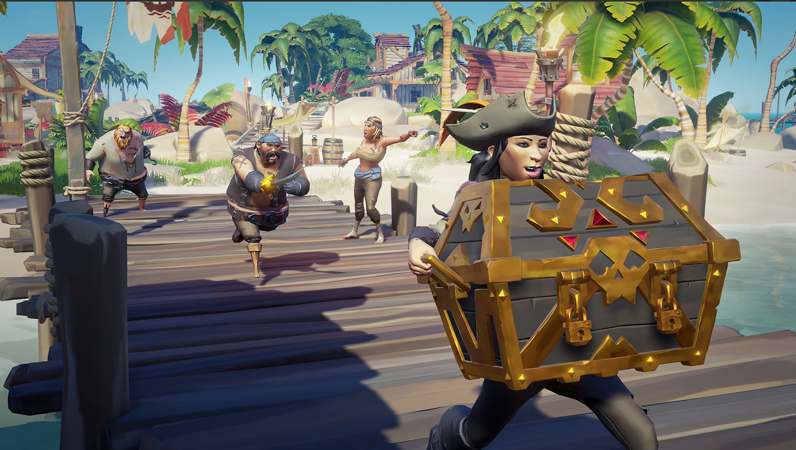 Sea Of Thieves Players Compete To See Who Can Find The Most Treasure