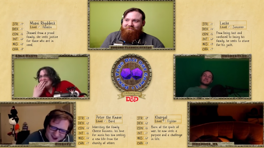 D&D Player Falls Asleep, Dungeon Master Tries Everything To Wake Him Up