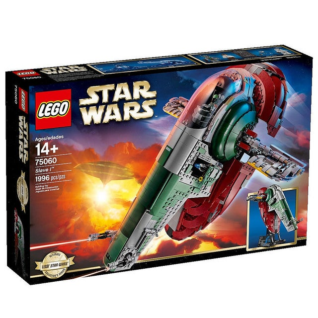 Ultimate Collector's Series Slave 1 Lego Set
