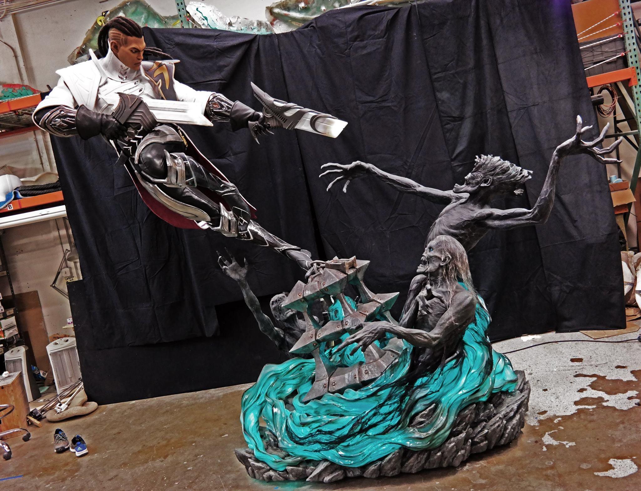The Predator's Designer Builds Killer League Of Legends Statue