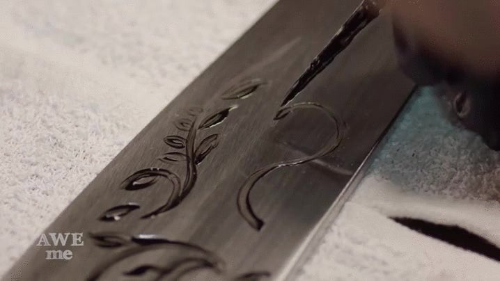 There's a Stunning Amount of Precision Work In Alice's Vorpal Blade