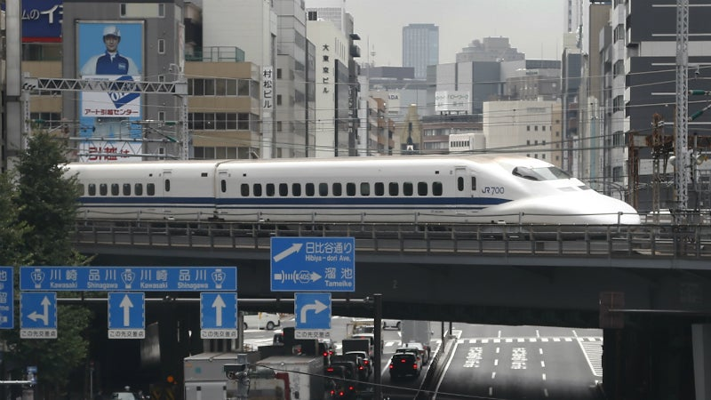 How Japan's Bullet Train Is Taking Over The World