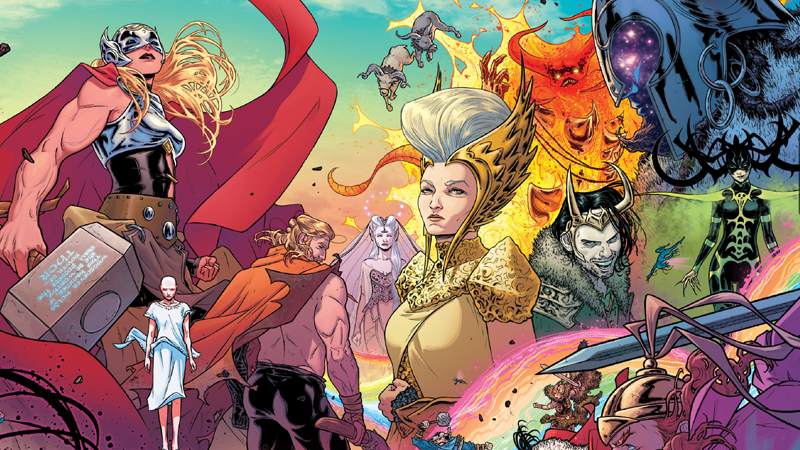 Verily, The Art In Mighty Thor Is So Damn Good