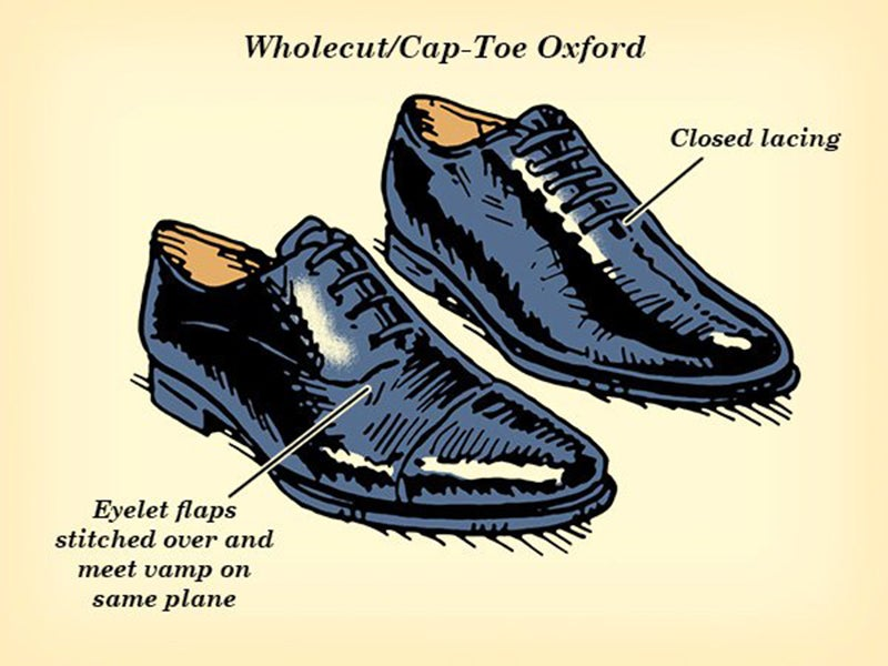 This Illustrated Guide Shows You When To Wear Different Dress Shoes