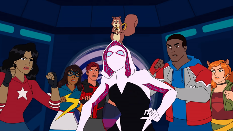 The Secret Warriors Team Up With Spider-Gwen In A New Marvel Rising Animated Special