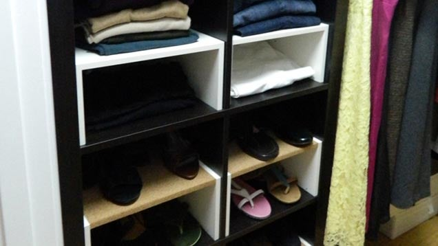 Build This Space-Saving Closet Organisation System with IKEA Parts