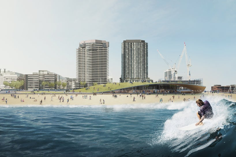These Architects Want To Build a Surf Park That Floats In the Ocean