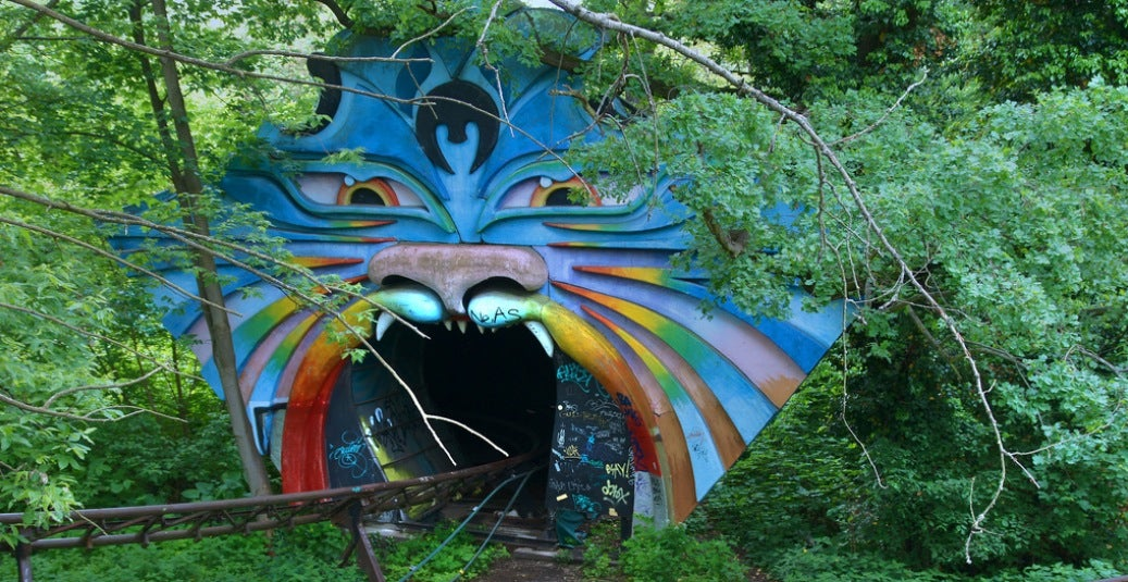 Berlin's Creepiest Abandoned Amusement Park Burned Down Over the Weekend