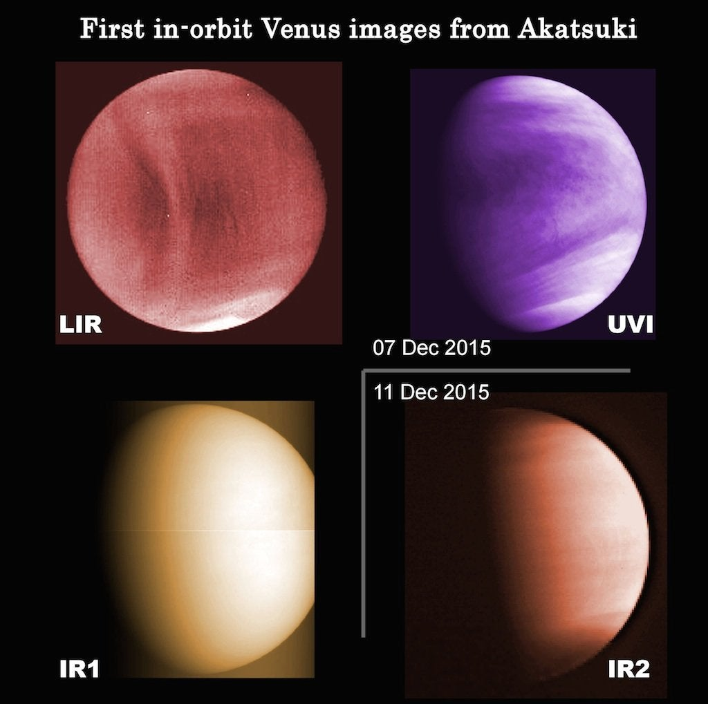We've Never Seen Venus' Roiling Storms Like This Before