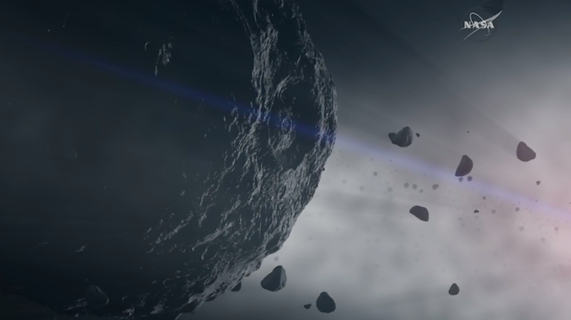 first landing on an asteroid - photo #39