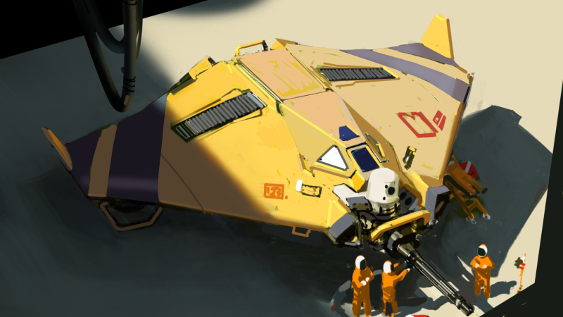 The Beautiful Art Of Homeworld: Deserts Of Kharak