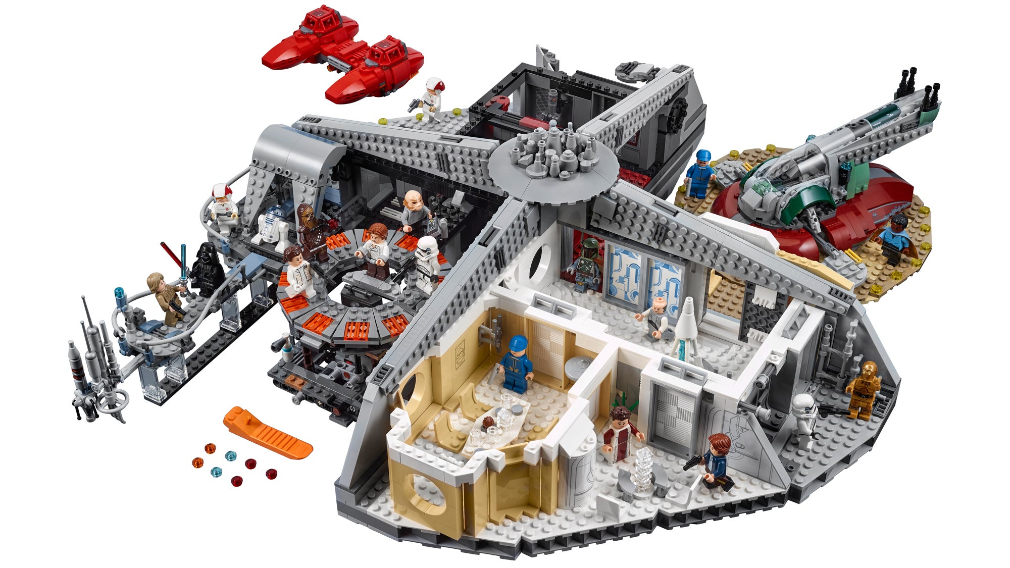 Lego Finally Gives Lando The Monstrous 2800+ Piece Cloud City He Deserves