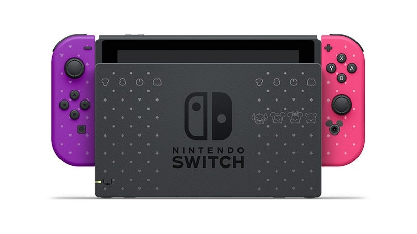 Japan's Getting A Disney-Themed Nintendo Switch