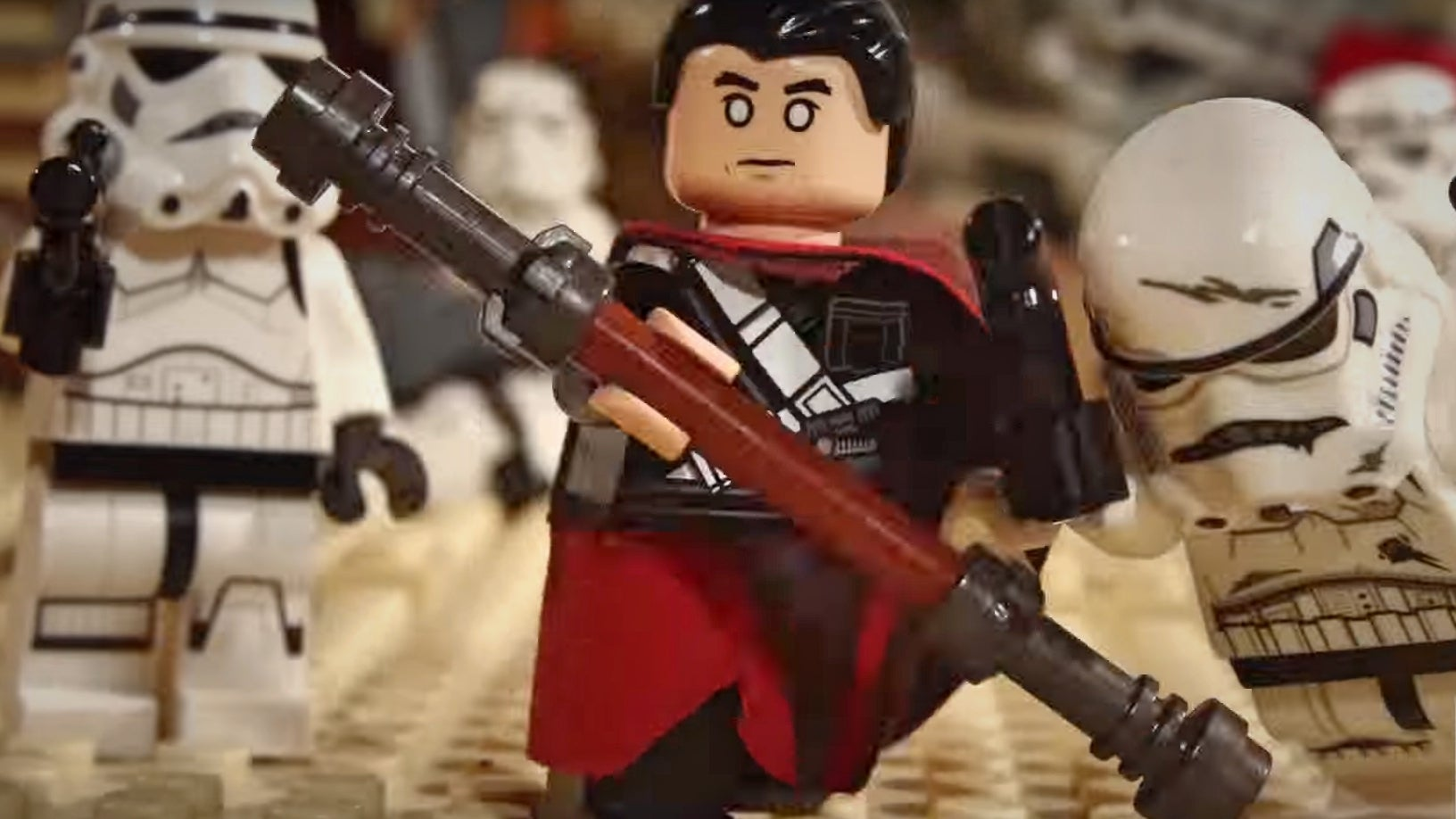 Rogue One's Chirrut Imwe Goes To Town On The Whole Dang Empire In This LEGO Parody