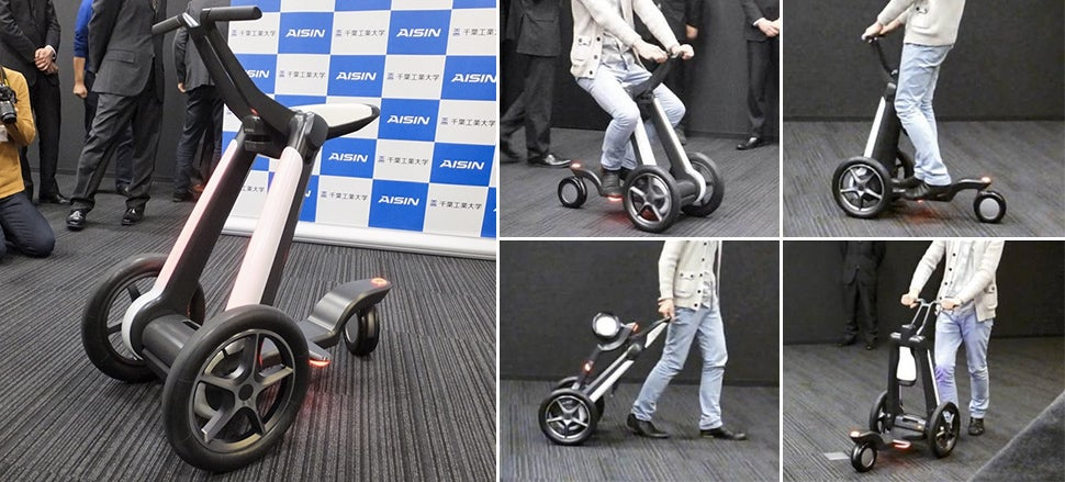 This Transforming Scooter Is the Ultimate Mobility Aid for Any Age