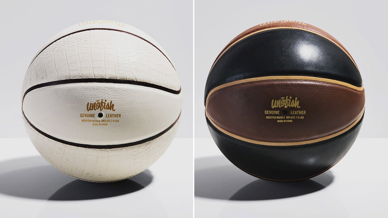 You Will Never Want To Bounce These Stunning Leather Basketballs