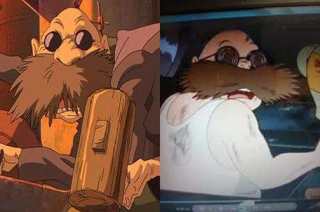 Studio Ghibli Characters Sure Look the Same