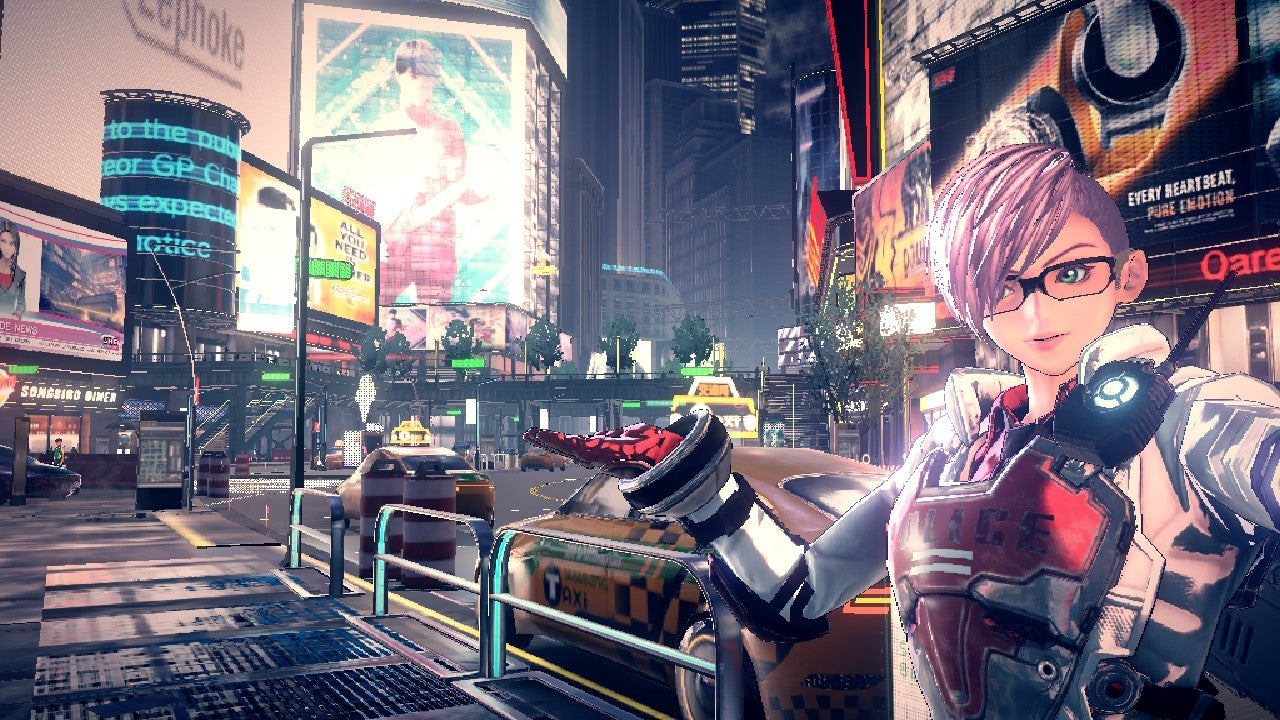 Even The Non-Fighting Parts Of The New Switch Game Astral Chain Are Excellent