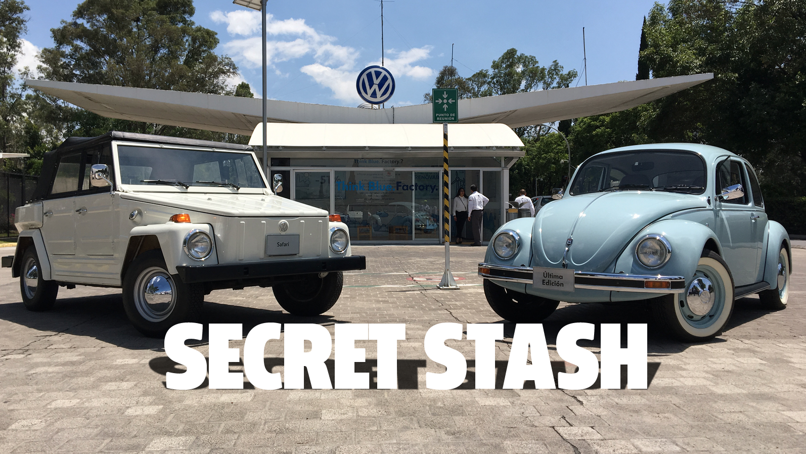 I Finally Got To See Volkswagen Of Mexico's Secret Car Collection