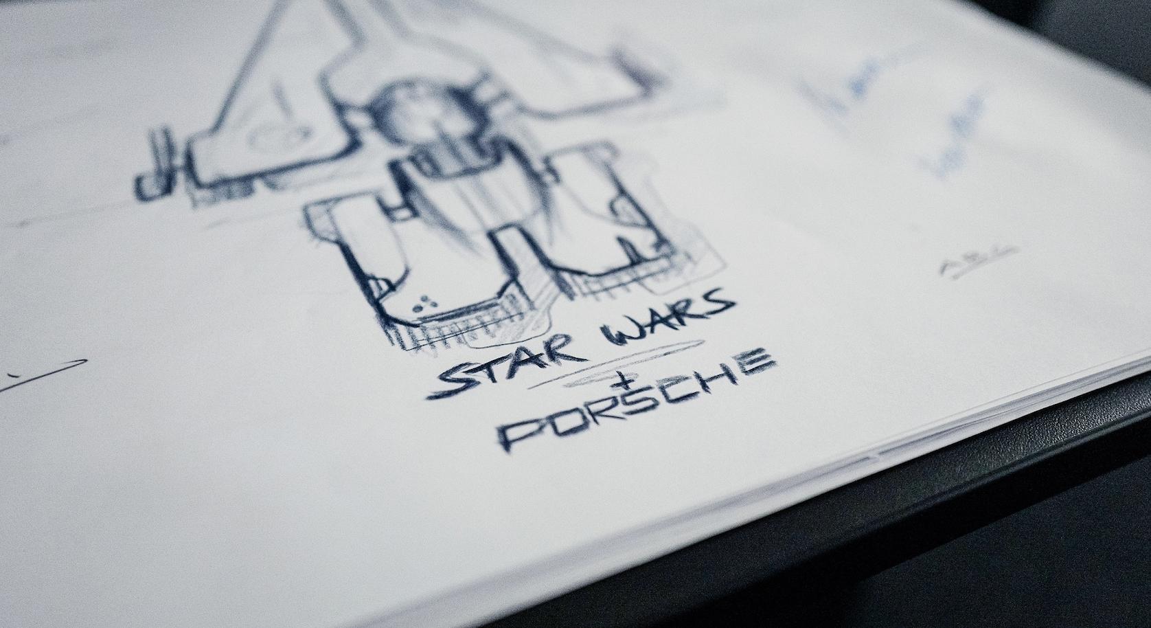 Porsche And Lucasfilm Team Up To Design A New Star Wars Spaceship