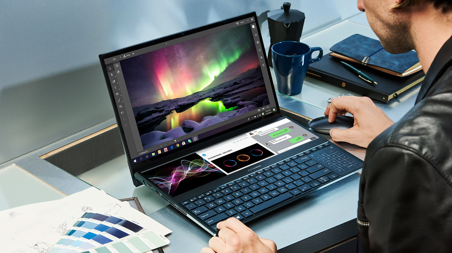 Asus' Wildly Ambitious ZenBook Pro Duo Is The Most Dual-Screen Laptop Yet